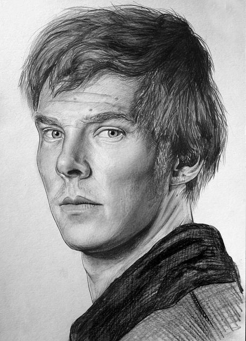 Benedict Cumberbatch by Lazzzy